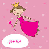 Fairy  heart magic wand. Royalty Free Stock Photos