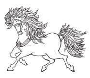 Fairy horse Stock Photography