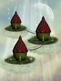 Fairy house Stock Photo