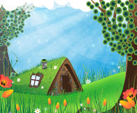Fairy house Royalty Free Stock Images