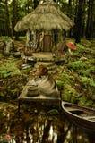 Fairy house (fisherman's house) royalty free illustration