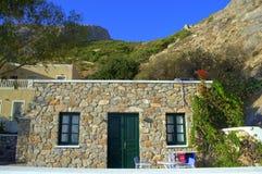 Fairy house Kamari,Santorini Royalty Free Stock Photos