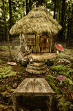 Fairy house (stump) Royalty Free Stock Photos