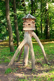 Fairy hut. The Forest tale bird house Royalty Free Stock Photo