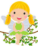 Fairy. Illustration of a cute fairy Royalty Free Stock Image