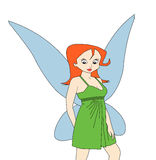 Fairy lady Royalty Free Stock Images