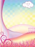 Fairy Landscape Stock Image