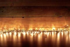 fairy lights Στοκ Φωτογραφίες