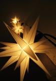 Fairy lights. Fariy star lights in the christmas time Royalty Free Stock Photos