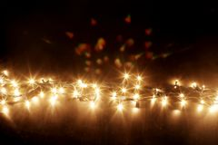 Fairy Lights Royalty Free Stock Photo