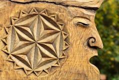Fairy-like houten cijfers Royalty-vrije Stock Fotografie