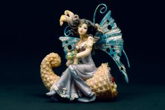 A fairy like muse stock photography