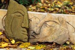 Fairy-like stone  figures Royalty Free Stock Image