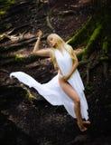 Fairy like woman Stock Photography