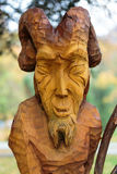 Fairy-like wooden figures Royalty Free Stock Photos