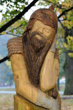 Fairy-like wooden figures Stock Photography