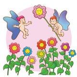 Fairy love royalty free illustration
