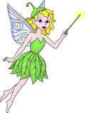 Fairy with magic stick Royalty Free Stock Image