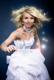 Fairy with magic wand Royalty Free Stock Photography