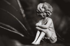 Fairy in mono Royalty Free Stock Photo