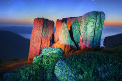 Fairy Mountain Royalty Free Stock Images