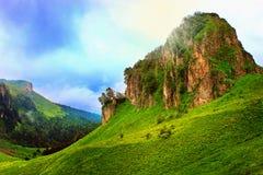 Fairy mountains landscape Stock Photo