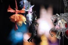 Fairy nero Fotografie Stock