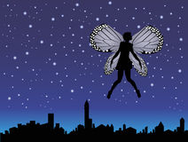 Fairy in the night Royalty Free Stock Photo