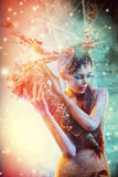 Fairy nymph Royalty Free Stock Images