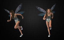 Fairy package Royalty Free Stock Photography