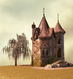 Fairy Palace. Fantasy background for your artistic creations and/or projects Stock Images