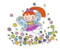 Fairy pequeno bonito Fotografia de Stock Royalty Free