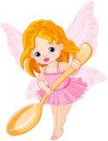 Fairy pequeno bonito ilustração royalty free