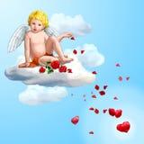 Fairy petal stock image
