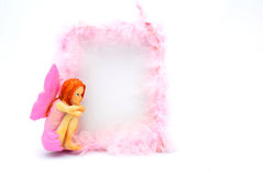 Fairy picture frame Royalty Free Stock Images
