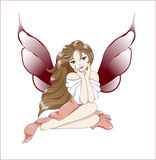 Fairy pink Royalty Free Stock Photos