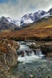 Fairy Pools, Glen Brittle. Fairy Pools, Black Cuillin, Glen Brittle, Isle Of Skye, inner Hebrides, Scotland Royalty Free Stock Photo