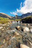 The Fairy pools, Isle of Skye Royalty Free Stock Photography