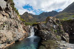 Fairy pools, Isle of Skye Stock Photos