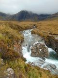 Fairy Pools, Isle of Skye, Scotland royalty free stock photo