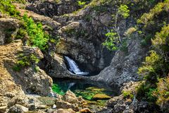 The Fairy Pools Royalty Free Stock Photography