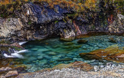 Fairy Pools, small river. Stock Photography