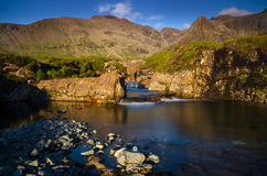Fairy Pools waterfalls Royalty Free Stock Photography