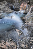 Fairy Pools in Winter on the Isle of Skye. Royalty Free Stock Photos