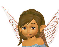 Fairy portrait Royalty Free Stock Photography