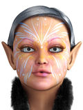 Fairy portrait Royalty Free Stock Photo