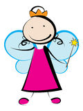 Fairy princes stock photos