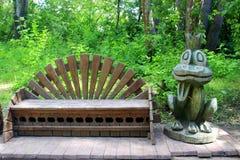Fairy princess frog Stock Image