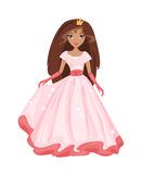 Fairy Princess. Vector Illustration Royalty Free Stock Photo