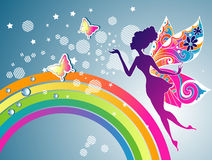 Fairy rainbow Royalty Free Stock Photography